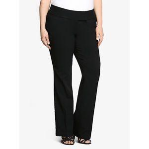 Torrid | Solid Black Relaxed Trouser Pants